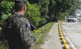 Honduras reporta 781 homicidios en primer trimestre, un 20,3% menos que 2018