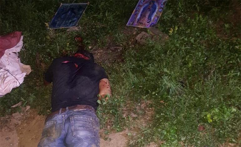 A machetazos matan a joven campesino