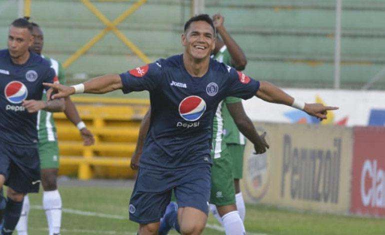 Moreira sexto extranjero con 'hat trick' en Motagua