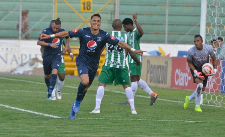 Motagua recupera la confianza goleando a Juticalpa FC