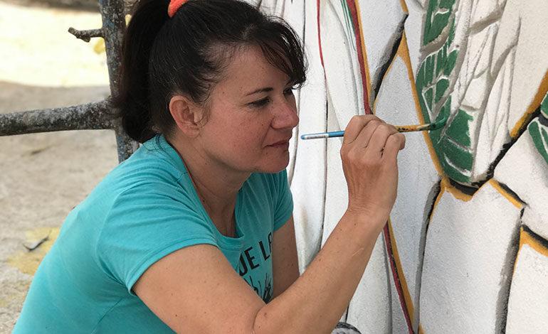 Gabriela Fajardo: una huella imborrable en México con su mural prehispanico
