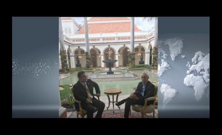Detienen al periodista Jorge Ramos durante entrevista con Maduro