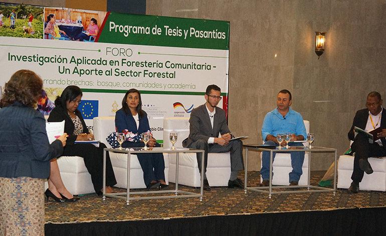 Explotación boscosa sostenible ayudaría al desarrollo regional