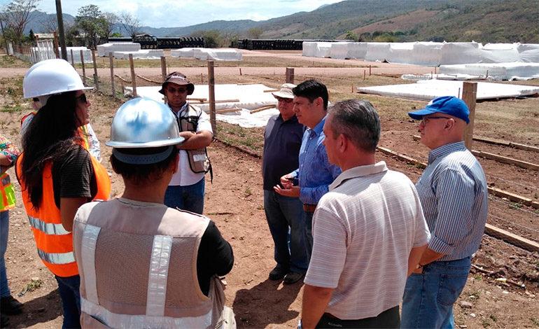 Megaproyecto de riego construyen en Sulaco