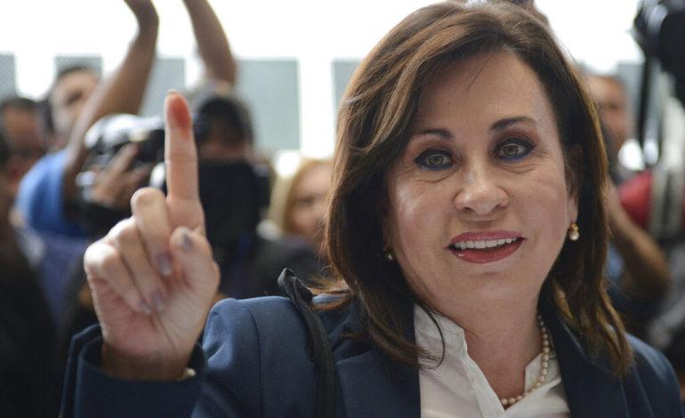 Guatemala: corte mantiene inmunidad a candidata presidencial