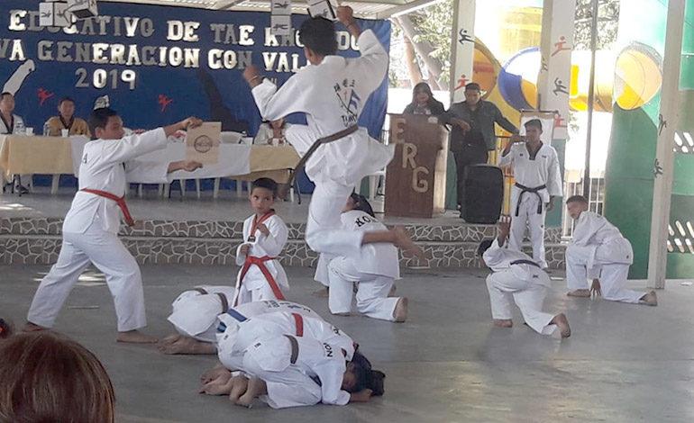 Lanzan proyecto educativo de taekwondo
