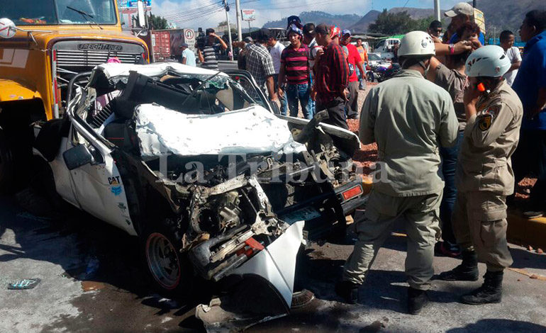 Cuatro personas mueren a diario por accidentes viales en Honduras