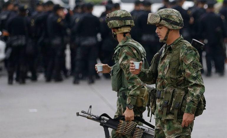 Colombia refuerza seguridad en puente internacional