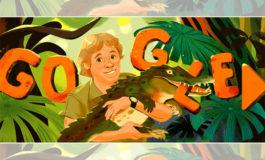 Google rinde homenaje a Steve Irwin