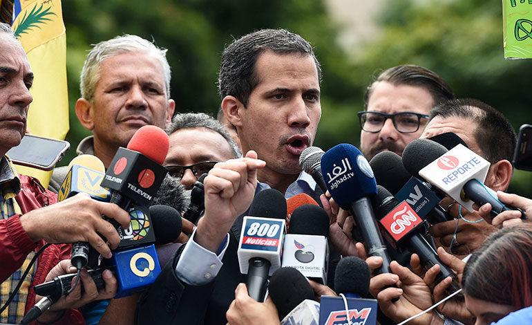 Guaidó responde a reto de Maduro y espera elecciones este año en Venezuela