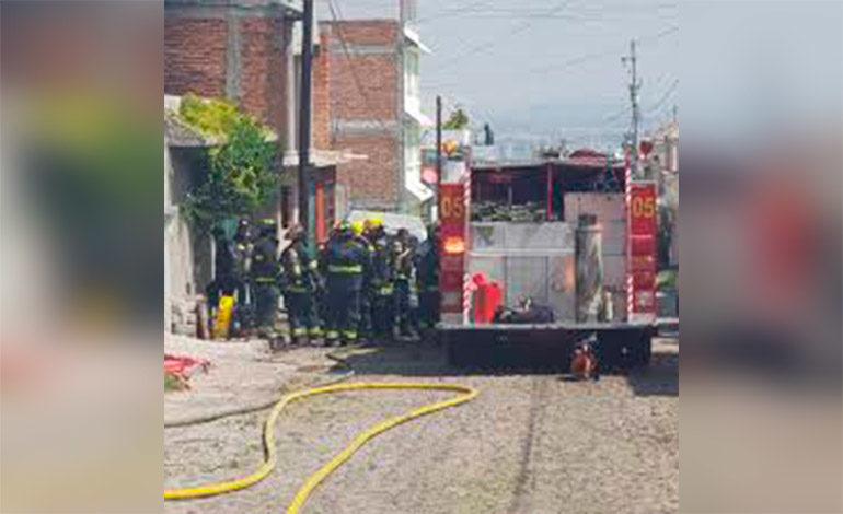 Incendio consume varias viviendas en Tegucigalpa