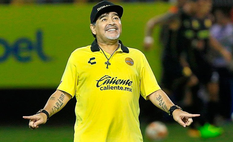 Dorados de Maradona empatan con los Cafetaleros y siguen en último lugar