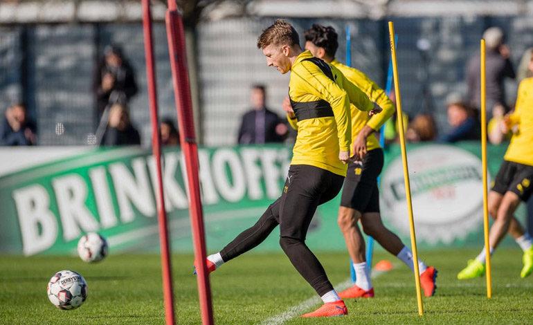 Marco Reus regresa a los entrenamientos del Borussia Dortmund