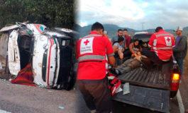 Un muerto y cuatro heridos deja accidente en Güinope, El Paraíso (Video)