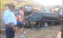 Tres amigos muertos en fatal accidente en Olancho