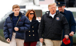 El hijo menor de Trump, Barron, cumple 13 años