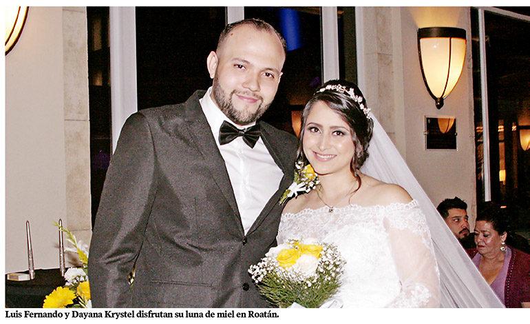 La boda religiosa de Luis Cámbar y Dayana Luna