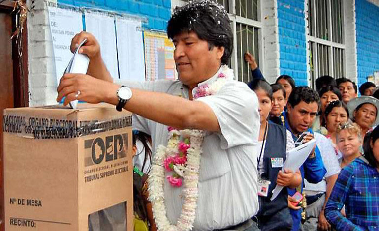Bolivia fija elecciones