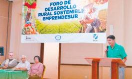 En Foro: Presentan experiencias exitosas de desarrollo rural sostenible
