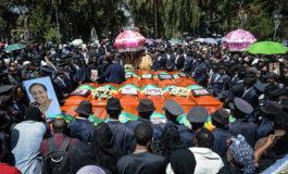 Multitudinario funeral en Etiopía por el accidente aéreo