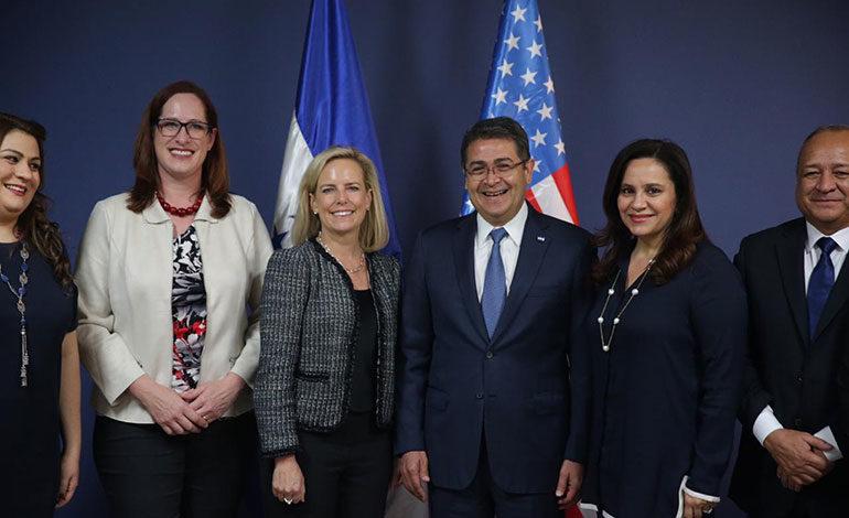 EEUU seguirá apoyando iniciativas que impulsan seguridad y prosperidad de Honduras