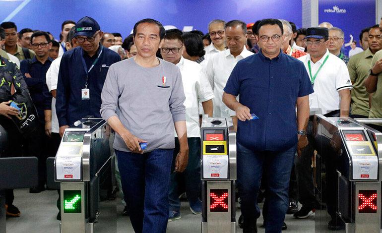 Indonesia inaugura en la capital su primer servicio de metro