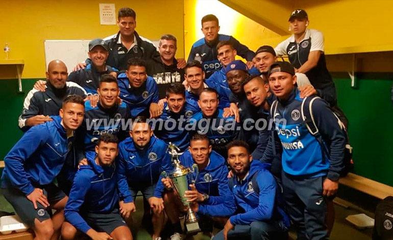 Motagua vuelve al país y se enfoca en torneo local