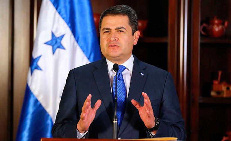 Honduras construye relación bilateral en seguridad con EEUU, dice Hernández