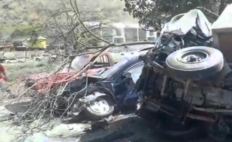 Tres heridos en accidente vial en San Pedro Sula