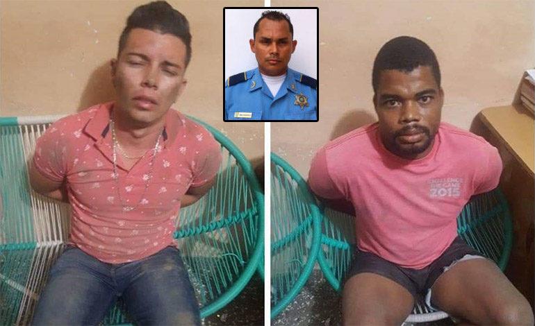 Atrapados sospechosos de matar a policía de Tránsito