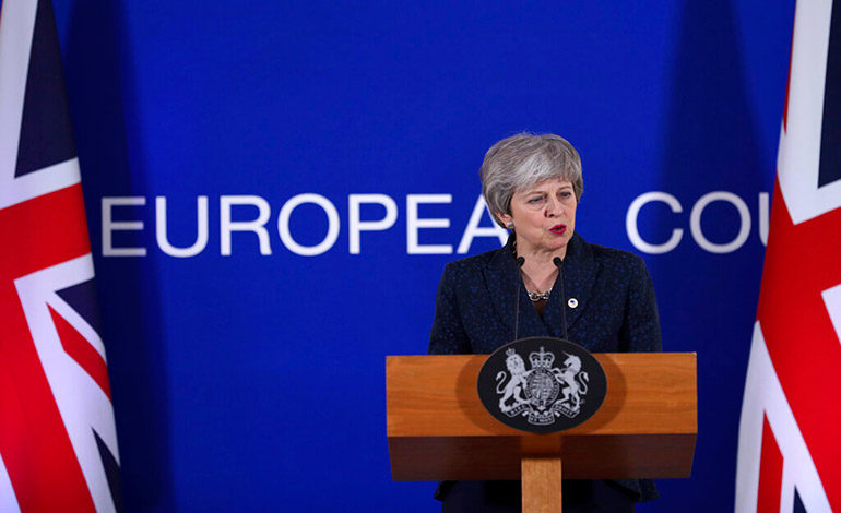 May sopesa no buscar la aprobación del Brexit esta semana