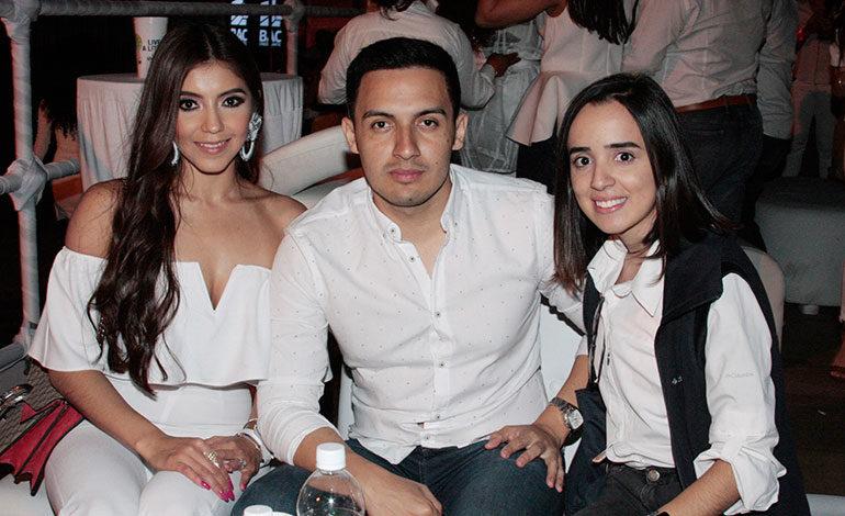 Lícida Herrera, Cristian Bonilla, Yuliveth López.