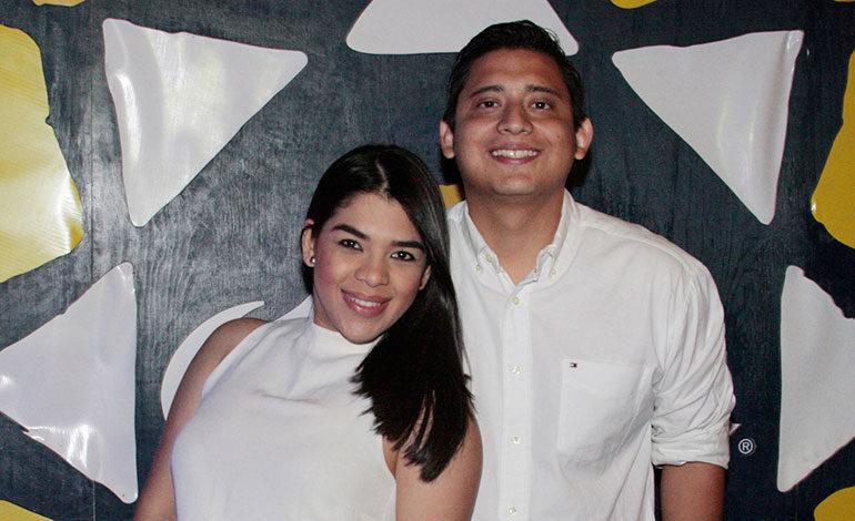 Nethy Duarte y Juan Molina.