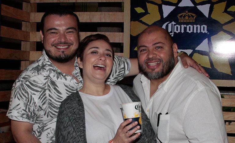 Aldo Marcucci, Renata Espinal, Hugo Turcios.