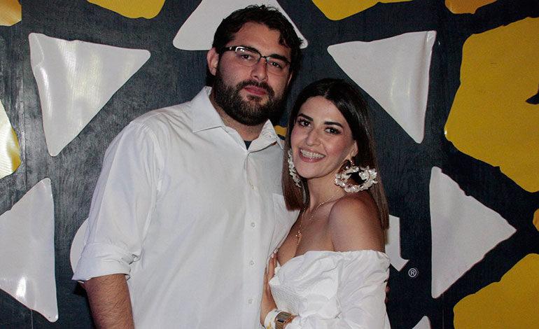 Francisco Pérez y Mari Bardají.