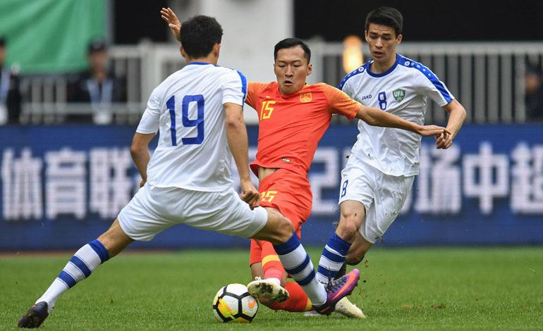 China de Cannavaro pierde ante Uzbekistán