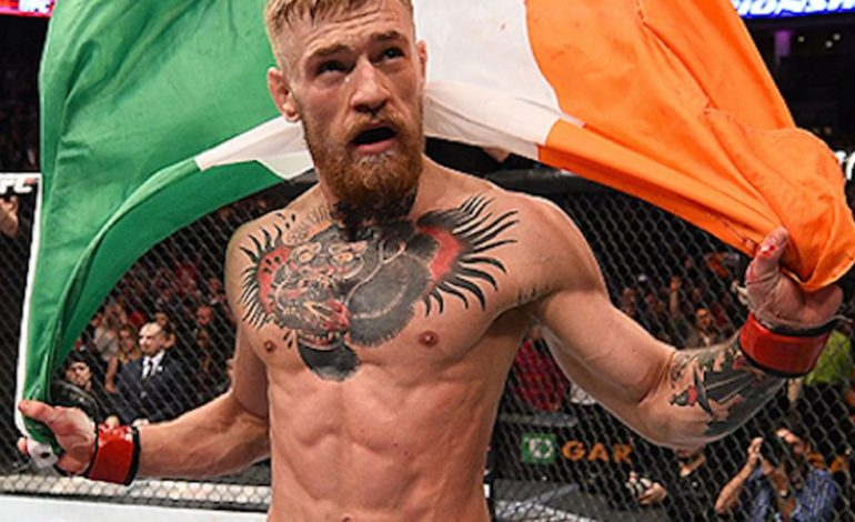 Conor McGregor se retira de Artes Marciales Mixtas