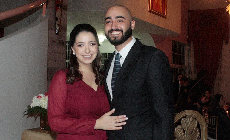 Boda civil de Roberto Hernández y Andrea Simón