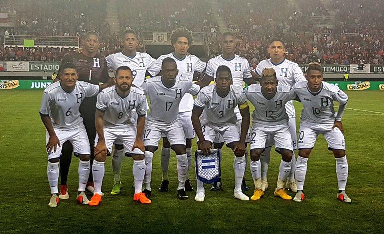 Honduras en el bombo A para sorteo de la Liga de Naciones
