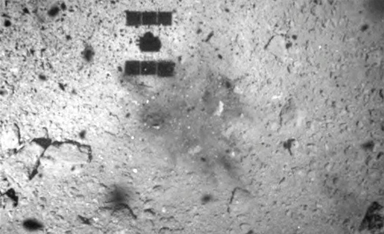 Japón hará cráter en asteroide para obtener muestras