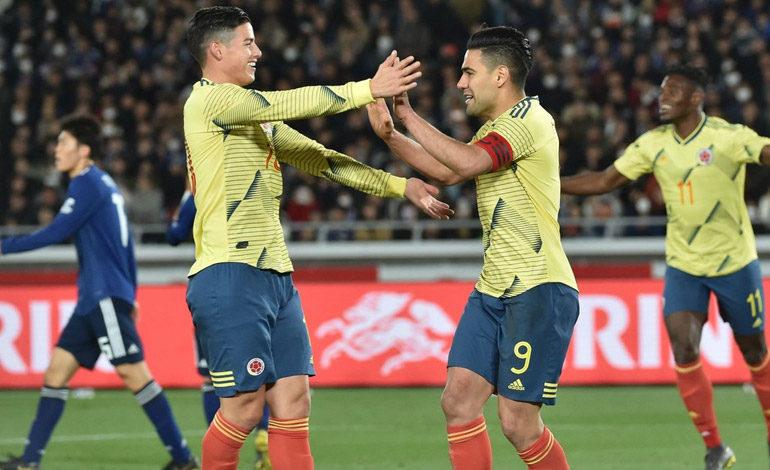 Colombia vence a Japón en estreno de Queiroz como DT tricolor