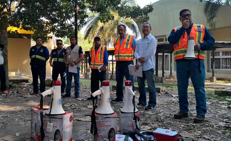 JICA y Copeco realizan simulacro de inundación La Ceiba