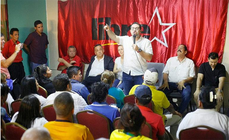 Jorge Cálix comienza la búsqueda de candidatura de Libre en Valle y La Paz