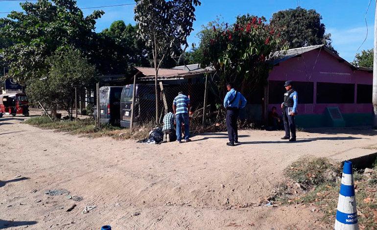 Ayudante de autobuses es ultimado a balazos en Choloma, Cortés