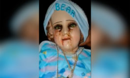 "Aseguran que una figura del Niño Jesús ""llora sangre"" (Video)"
