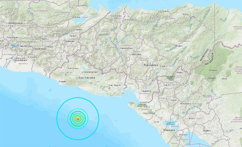 Sismo de magnitud 5,5 grados sacude parte de El Salvador