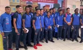 Sub-17 de Honduras voló a Panamá