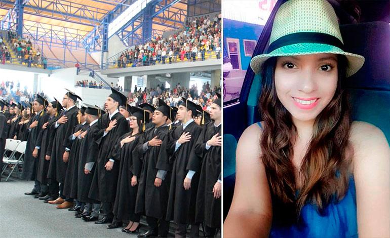UNAH entrega título postmorten a padres de Silvia Vanessa Izaguirre
