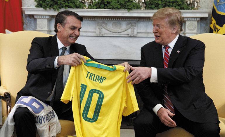 Trump destaca lazo Brasil-EEUU y recuerda a Pelé