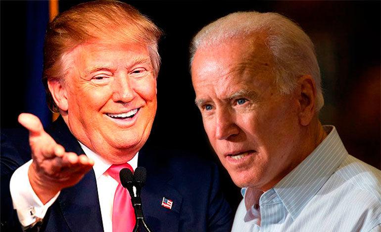 """Trump critica a Joe Biden y dice que tiene """"bajo coeficiente intelectual"""""""